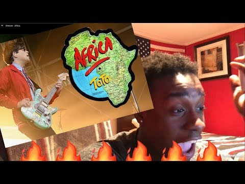 Weezer - Africa (OFFICIAL REACTION VIDEO)!!!