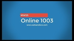 Online 1003 Mortgage Application