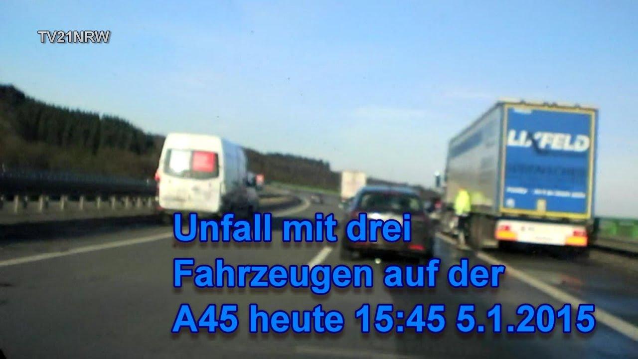 Lkw Unfall A45 Heute