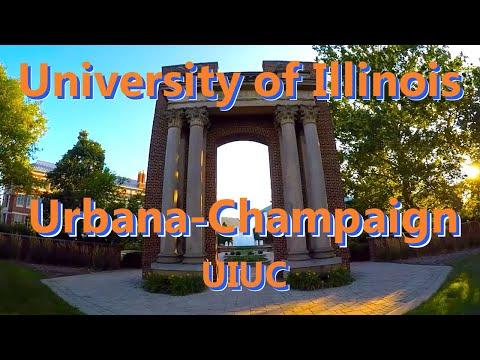 Champaign Illinois Vlog, University of Illinois (UIUC)