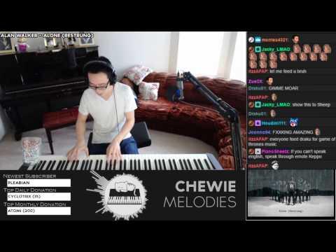 Alan Walker - Alone (Restrung) Piano Playover Cover, First Listen