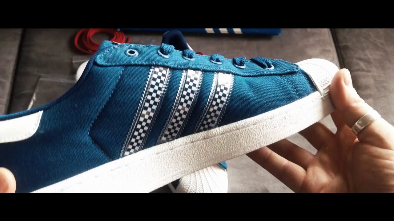 adidas superstar with interchangeable stripes