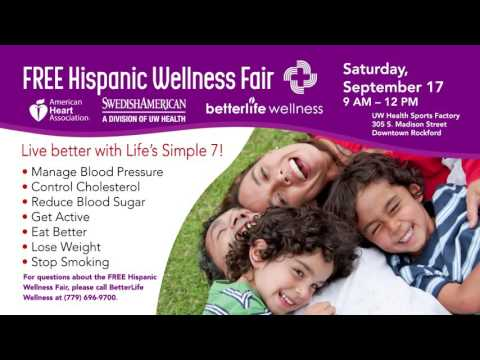 Swedish American Hispanic Wellness Fair Spanish 15