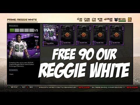 Madden 18 Ultimate Team - Free 90 Ovr Reggie White W/Twitch
