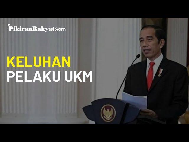 Pelaku UKM Mengeluh soal Turunnya Pendapatan, Jokowi Sebut 'Disyukuri, Negara Juga Sulit'