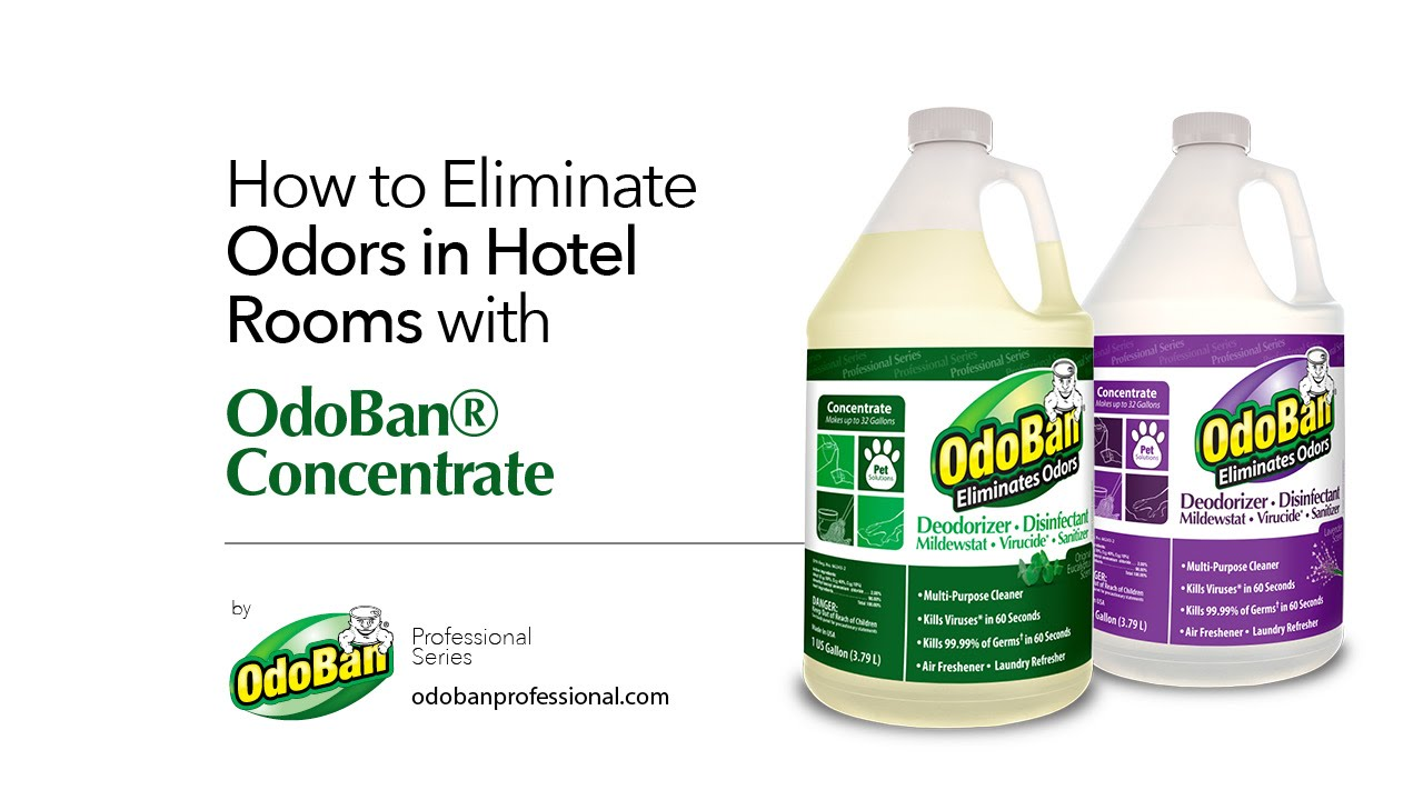 How to Eliminate Odors in Hotel Rooms with OdoBan® Concentrate ...