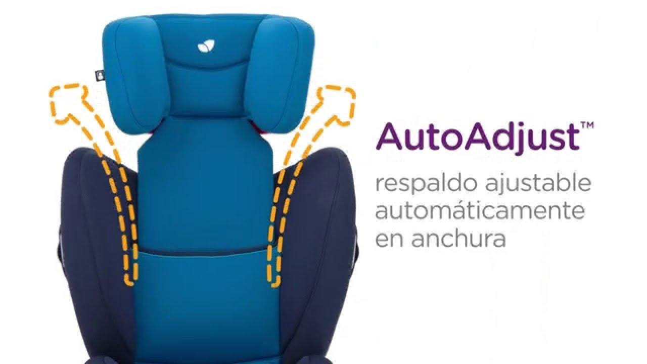 Joie silla de coche transcend grupo 1 2 3 youtube for Silla coche 0 1 2 3