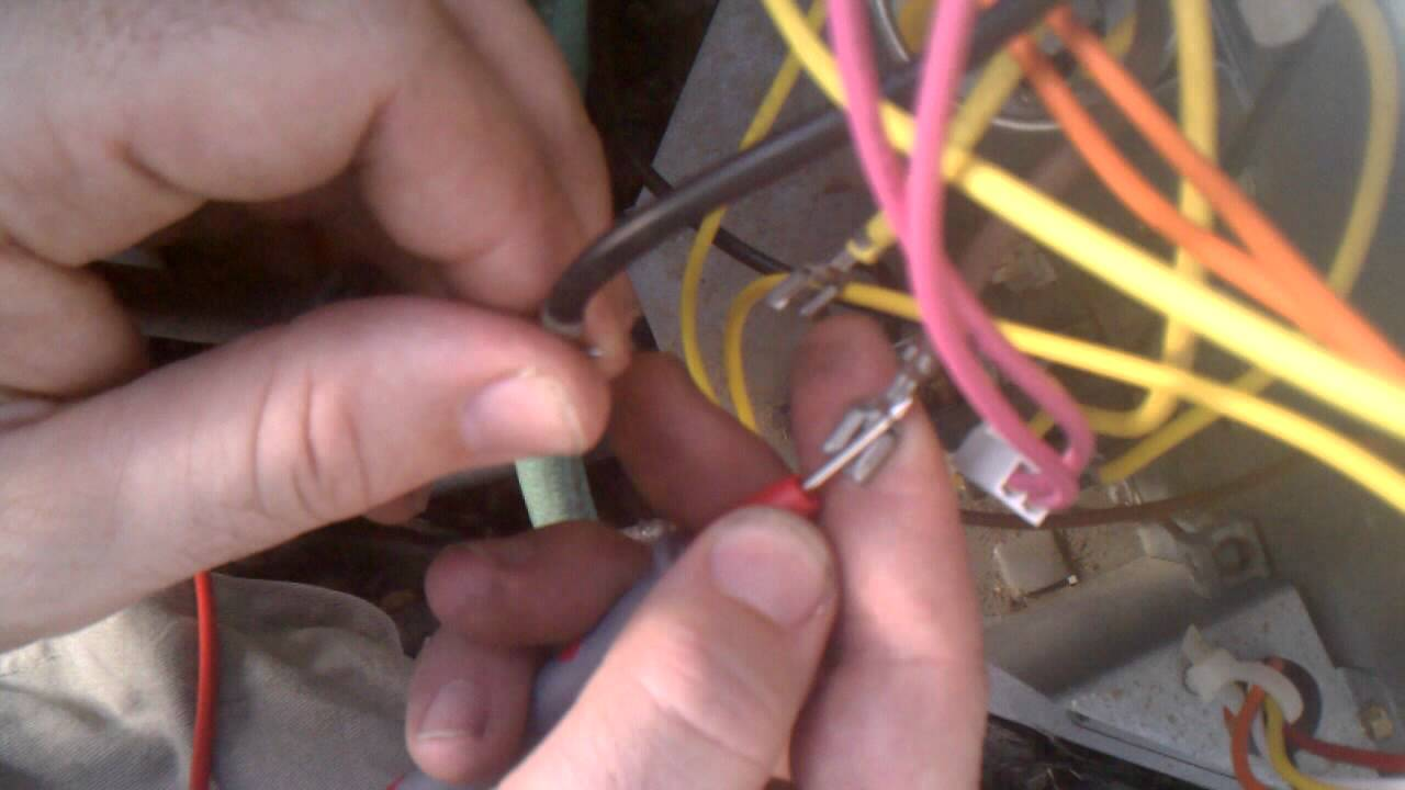 Troubleshoot outside condenser fan ac ac hvac part I  YouTube