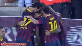 هدفين نيمار و الكسيس سانشيز على ريال مدريد [26/10/2013]
