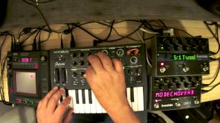 Arturia Microbrute - Ambient Ultra Phat Sounds. - Invasion Dominion