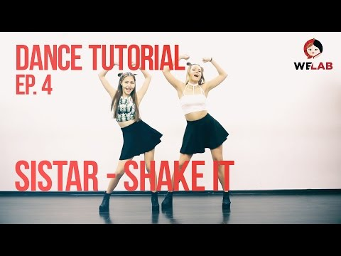 開始Youtube練舞:shake it-sistar | Dance Mirror