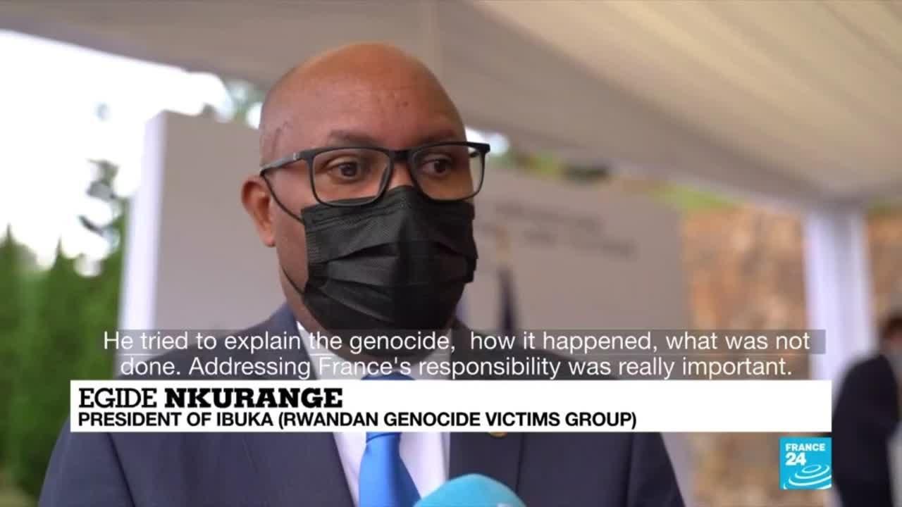 Download France's Macron seeks forgiveness over Rwandan genocide
