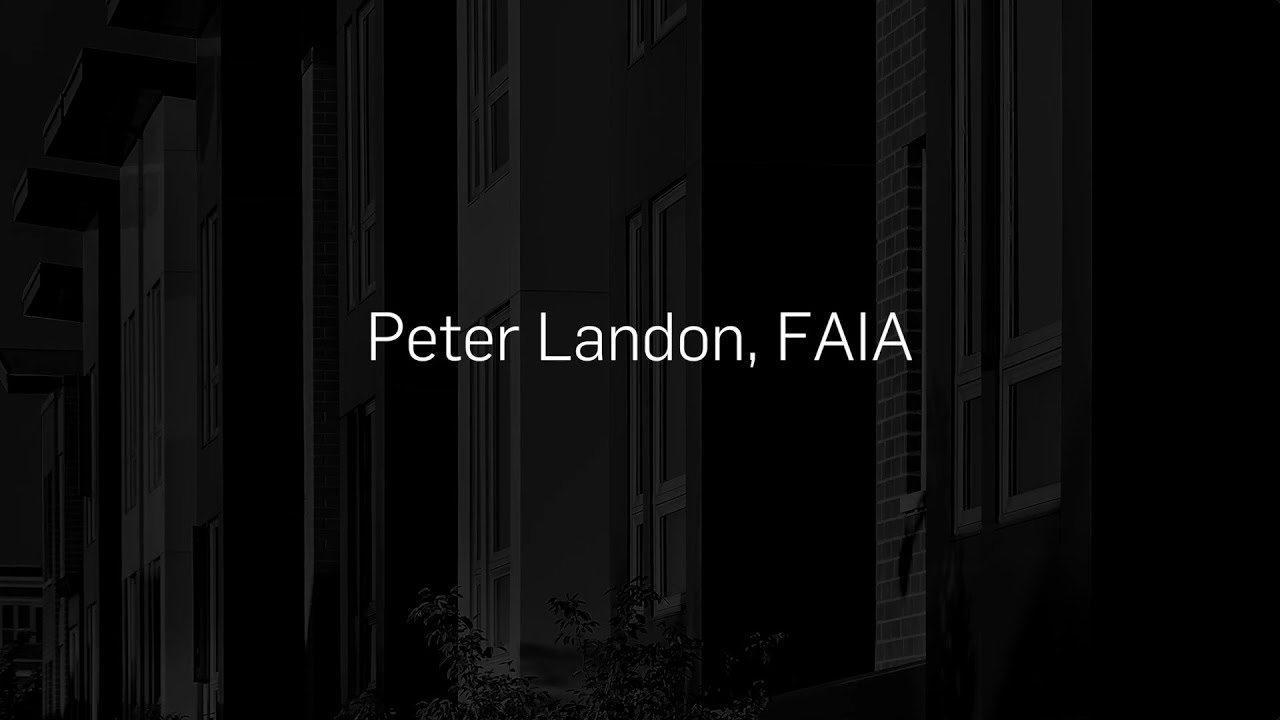 Peter Landon Aia Chicago Lifetime Achievement Award 2018 Youtube