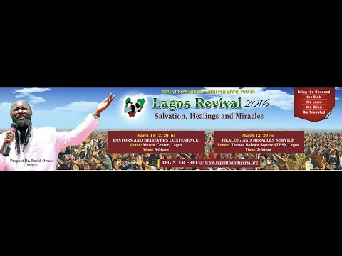 """NIGERIA END-TIME REVIVAL Day 2, 2016  -Part 2"""