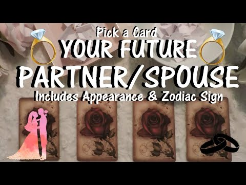 PICK A CARD!🔮💕Your FUTURE PARTNER/SPOUSE💍( INCLUDES APPEARANCE & ZODIAC)