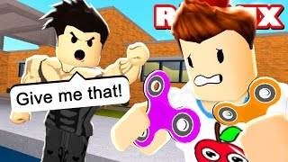 Bully STOLE MY FIDGET SPINNER! | Roblox School Roleplay