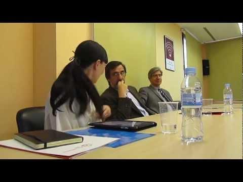 Conferencia Gema Castellano en la Universidad Autónoma de Barcelona