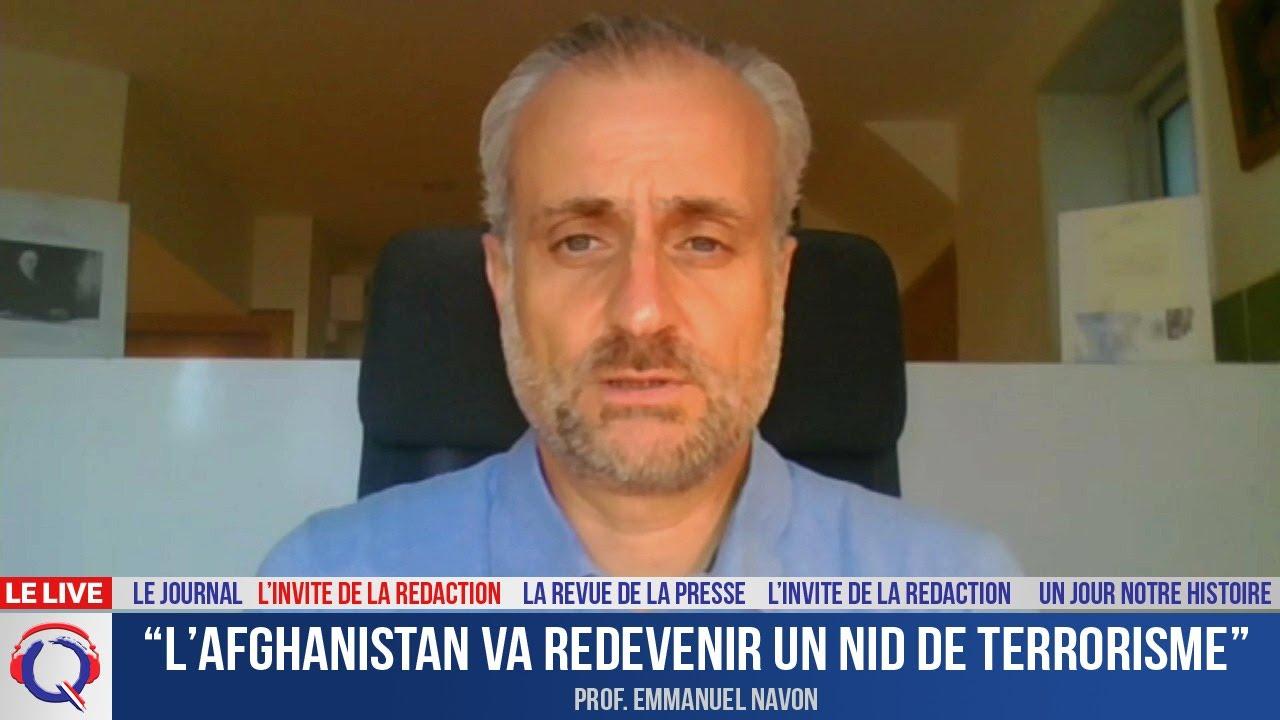 """""""L'Afghanistan va redevenir un nid de terrorisme"""" - L'invité du 17 aout 2021"""