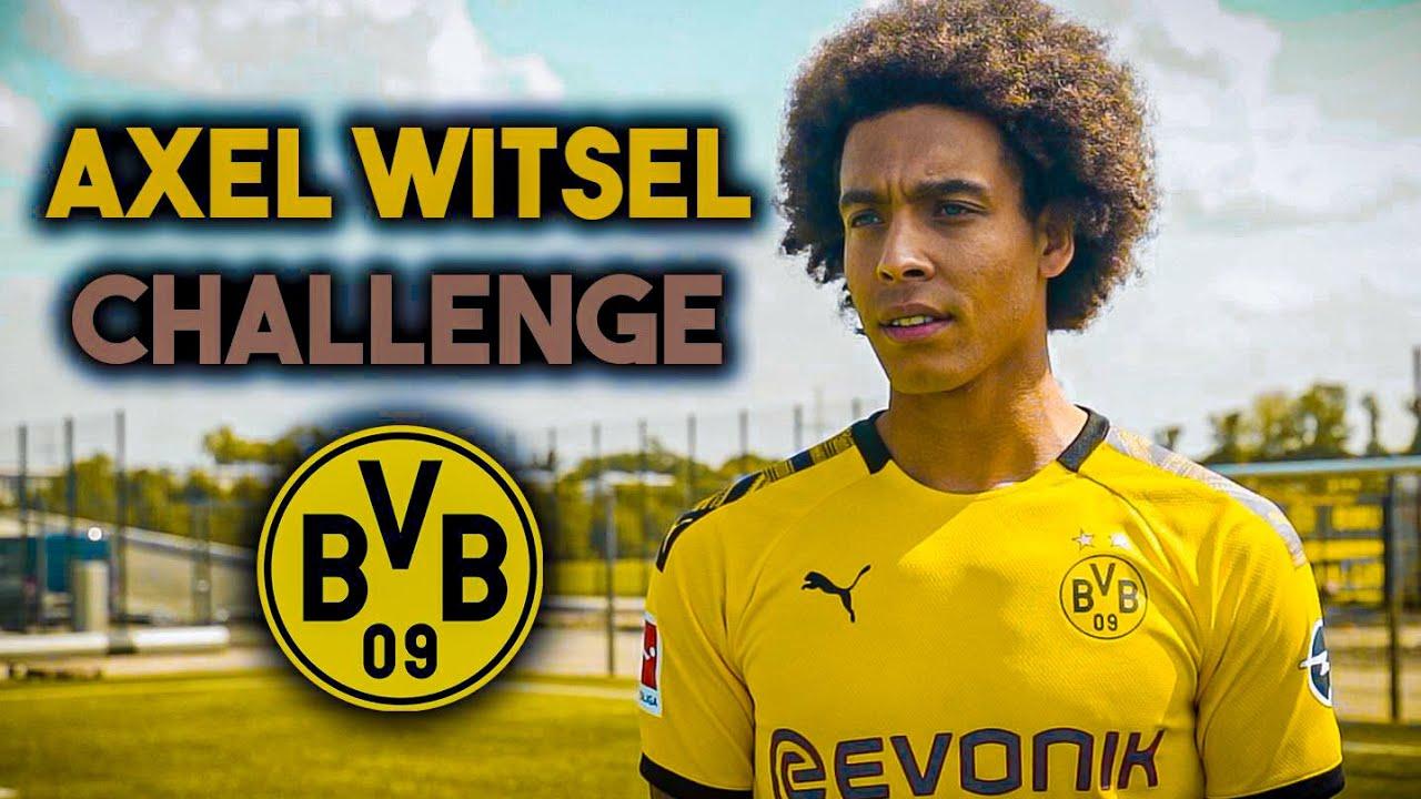 AXEL WITSEL - Fussball Challenge vs. BVB Profi