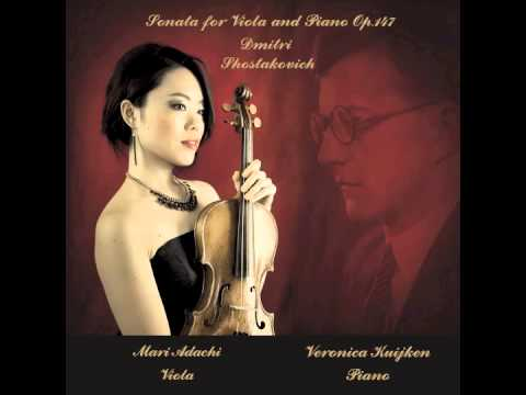 Dmitri Shostakovich : Sonata for Viola and Piano op.147, 1st mov