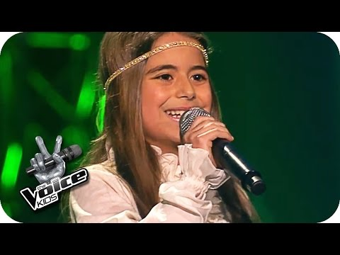 Pocahontas - Farbenspiel des Winds (Magdalina) | The Voice Kids 2016 | Blind Auditions | SAT.1