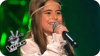 Pocahontas - Farbenspiel des Winds (Magdalina) | The Voice Kids 2016 | Blind Auditions | SAT.1