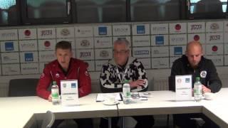 Pressekonferenz SSV Ulm 1846 Fussball - SC Pfullendorf