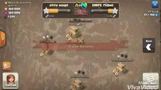 Clash Of Clans - Pior ataque que já fiz na guerra
