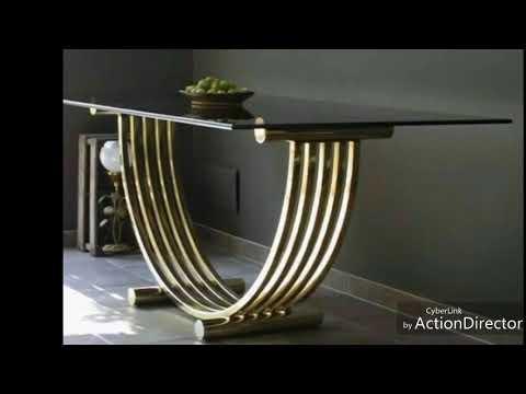 Хай-тек Необычные металлические изделия для дома Необычная мебель.