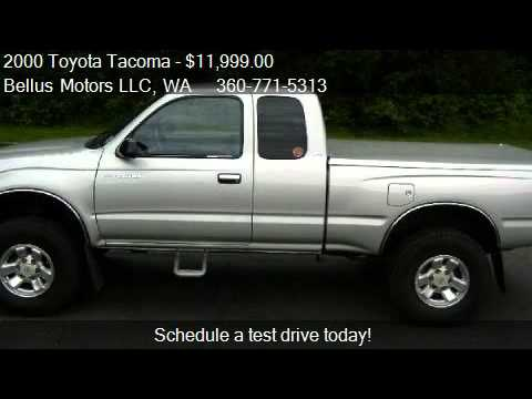 2000 Toyota Tacoma PreRunner Xtracab V6 2WD   For Sale In Va