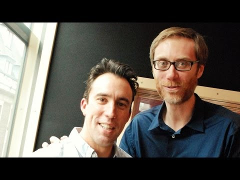 "Stephen Merchant Interview ""Hello Ladies"""