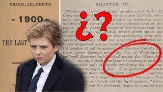 El misterio de Barron Trump se esconde en un extraño libro