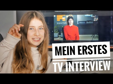 So war mein erstes TV Interview + Reaktion | Die Emmy