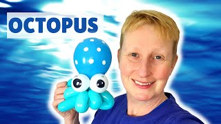 Octopus balloon animal tutorial -  how to make a balloon octopus