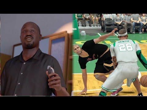 NBA 2k17 MyCAREER - Barbershop With LeBron James Gone Wrong!! RIP Hairline! 4 Ankle Breakers! Ep. 72