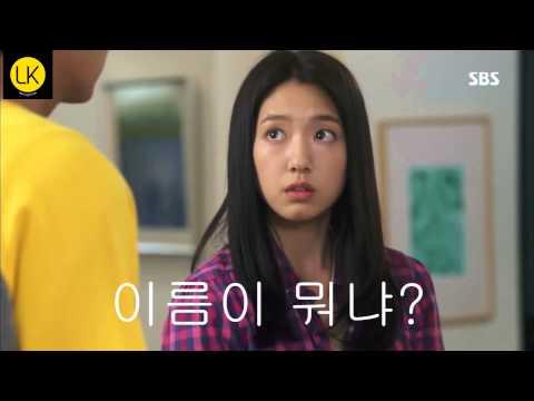 Learn Korean: What's your name? 이름이 뭐냐? Park Shin-hye & Lee Min-ho