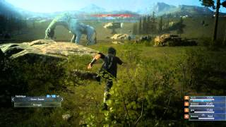 "「Final Fantasy XV Episode Duscae」 03 ~ ""Battle System Gameplay (Day & Night)"""