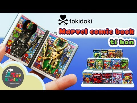 ToyStation - Truyện tranh tí hon Tokidoki, siêu anh hùng Marvel Comic book