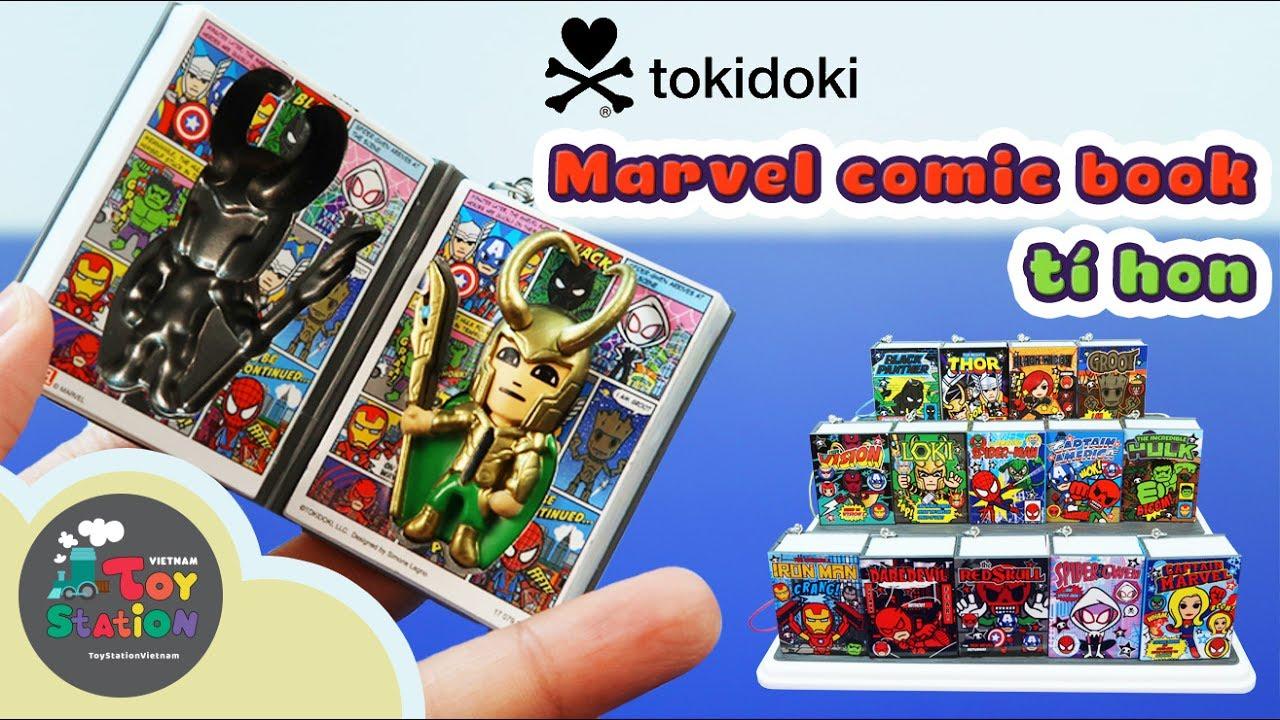 Tokidoki – Truyện tranh tí hon Frenzies, siêu anh hùng Marvel Comic book – ToyStation 77