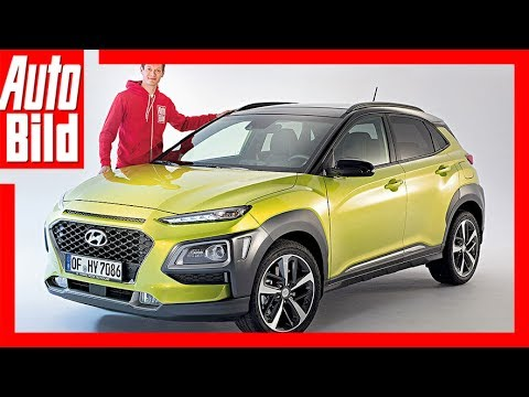 hyundai kona 2017 gef lliges mini suv youtube. Black Bedroom Furniture Sets. Home Design Ideas