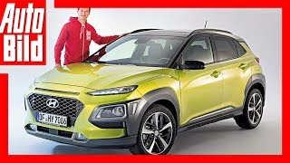 Hyundai Kona 2017 Gef lliges Mini SUV