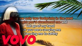 Sia Footprints Karaoke (Remake)