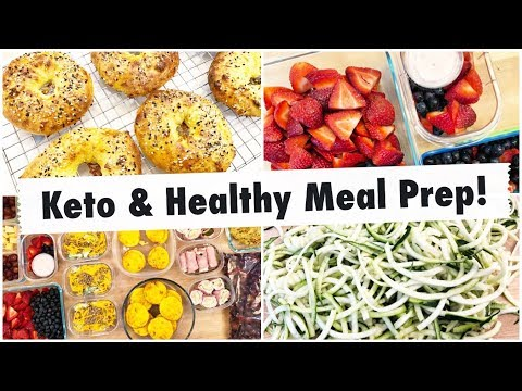 Meal Prep Like A Boss! //  Keto, Low Carb & Healthy Meal Prep // Working Mom Meals