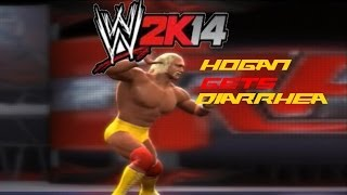 WWE 2K14 Custom Story - Hogan gets Diarrhea