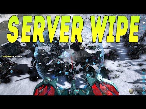 OFFICIAL SERVER 8 SERVER WIPE - ARK MEGA TRIBE RAID - ENDGAME Vs The Plague#99