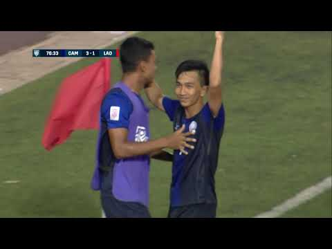 Keo Sokpheng 77' vs Laos (AFF Suzuki Cup 2018 : Group Stage)