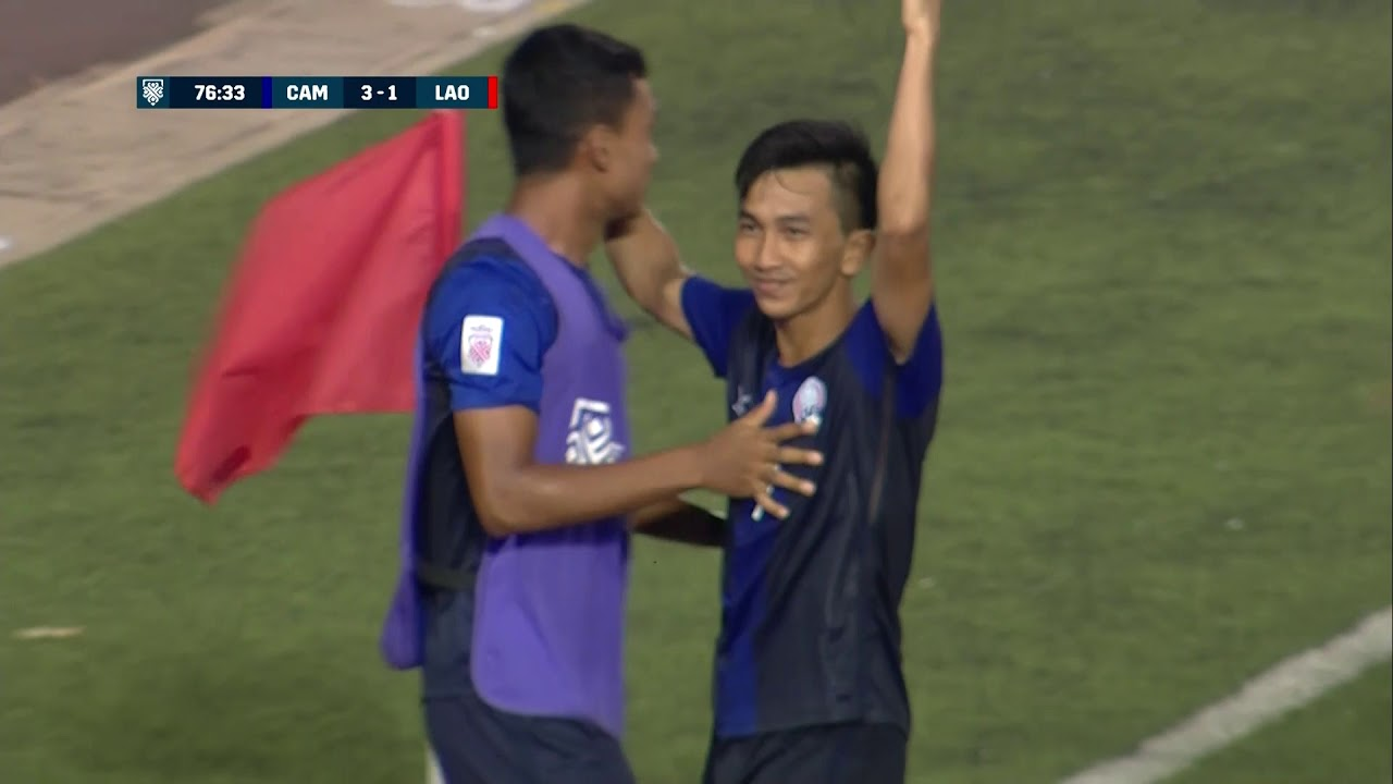 Video: Campuchia vs Lào