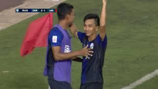 Keo Sokpheng 77' vs Laos (AFF Suzuki Cup 2018 : Group Stage)