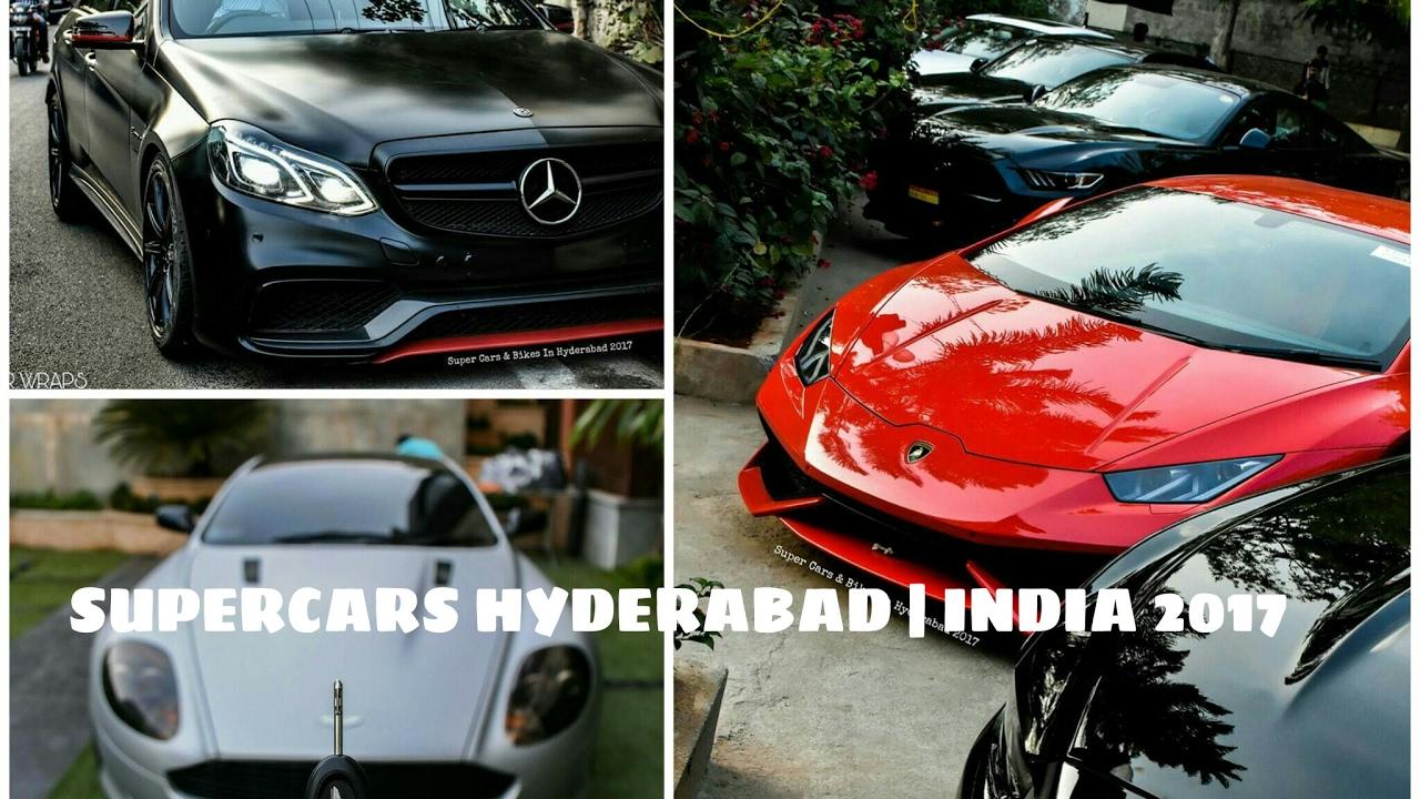 supercars hyderabad india 2017 youtube. Black Bedroom Furniture Sets. Home Design Ideas