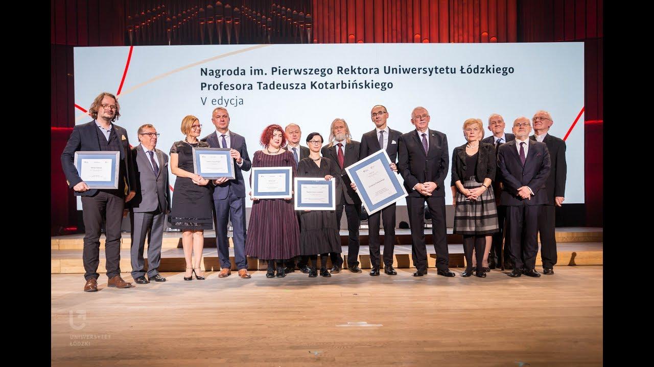Nagroda im. Kotarbińskiego 2019 - YouTube